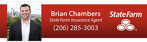Brian Chambers, Agent State Farm Insurance